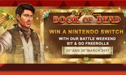 Win een Nintendo Switch of 300 euro bij VideoSlots
