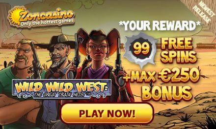 Tijdelijk verbeterde welkomstbonus bij Zon Casino
