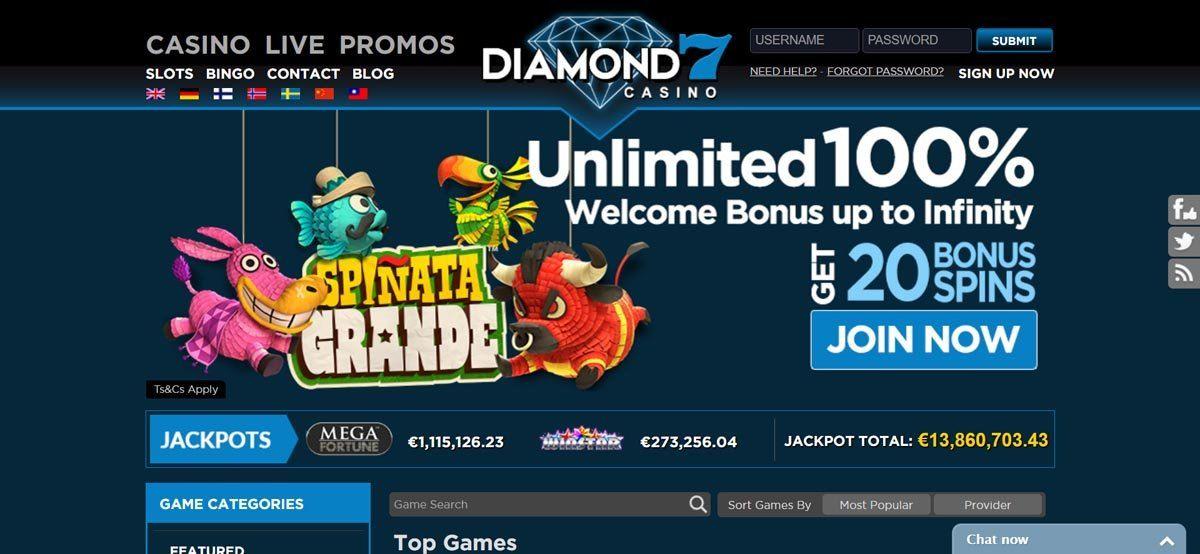 diamond casino online