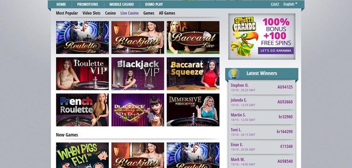 karamba online casino bookofra online