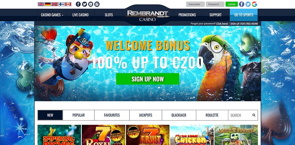 Rembrandt casino 5 free