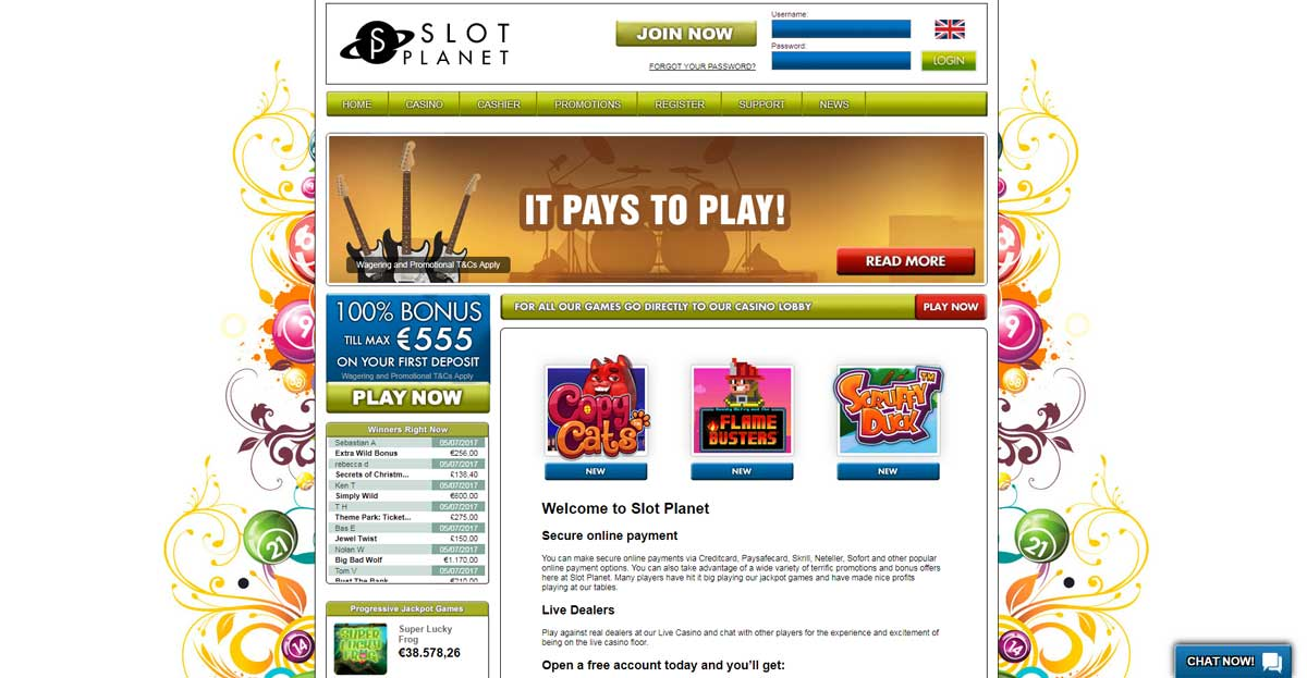 online casino slot starbrust