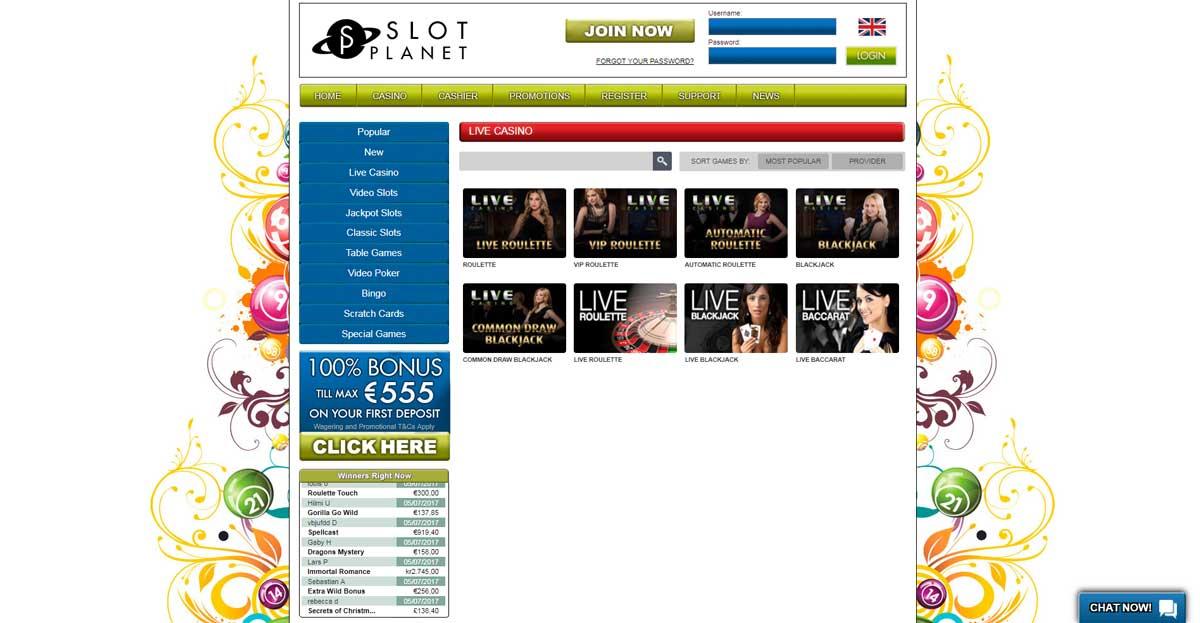 online live casino casino slot online