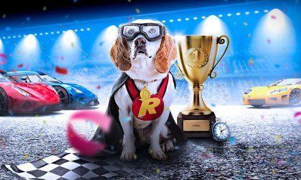 Win gratis spins en speelgeld met Rizk Race