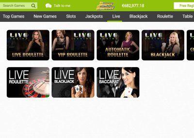 Casilando - Live casino