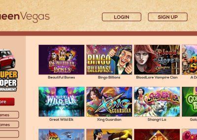 Queen Vegas Casino - Lobby
