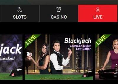 BrightStar Live casino