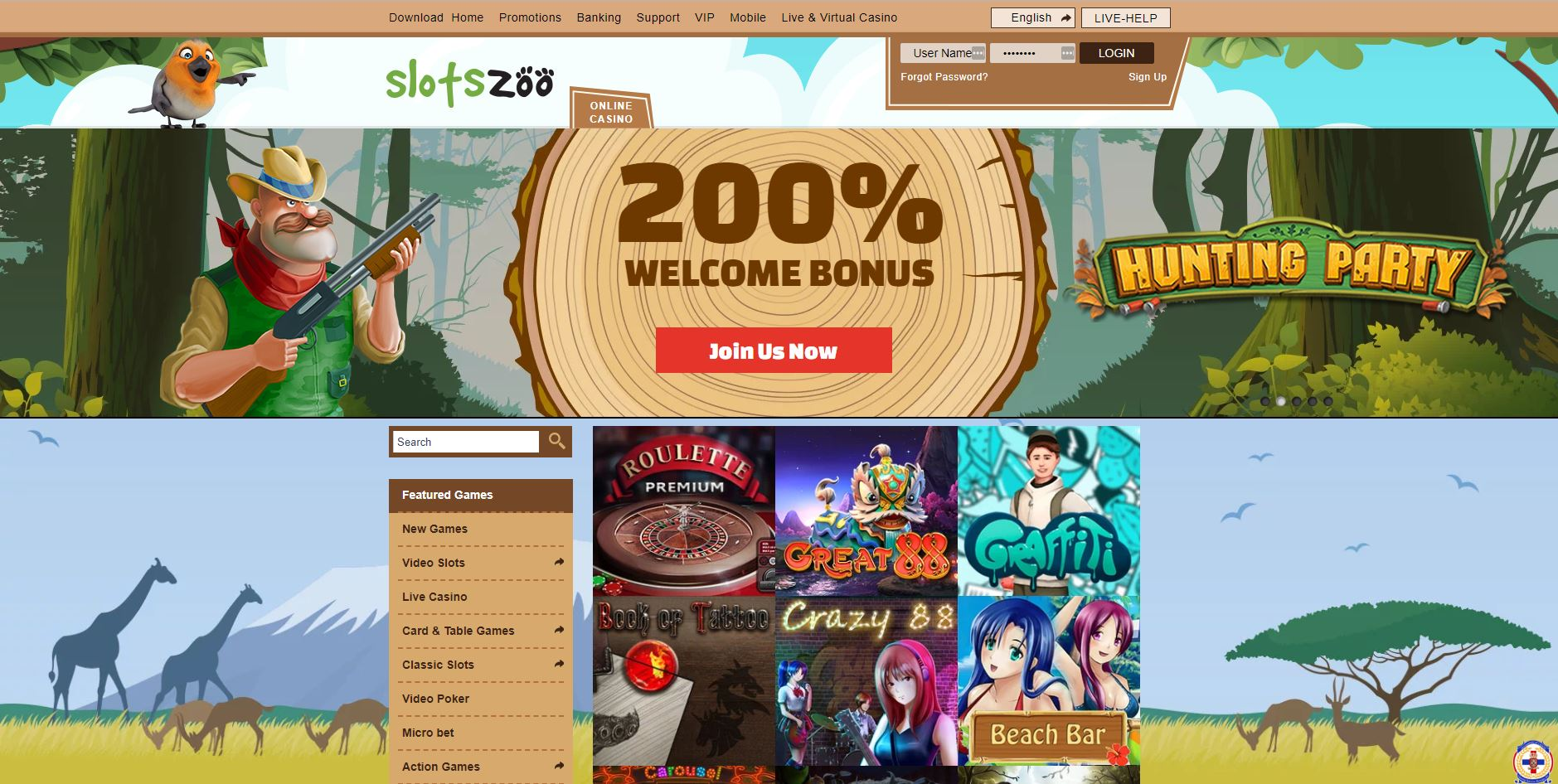 slots zoo casino