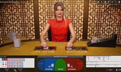Online live casino baccarat