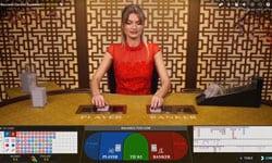 Online live casino baccarat