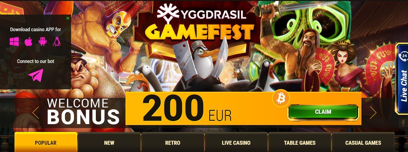 Argo Casino Gamefest