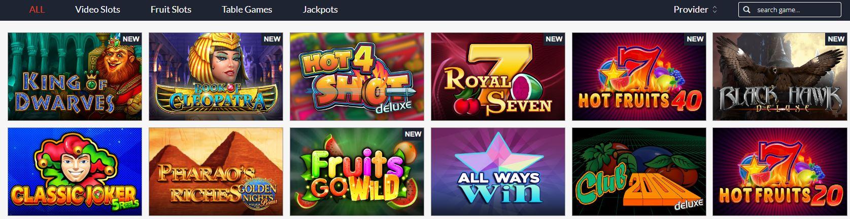 Fruits4Real gokkasten