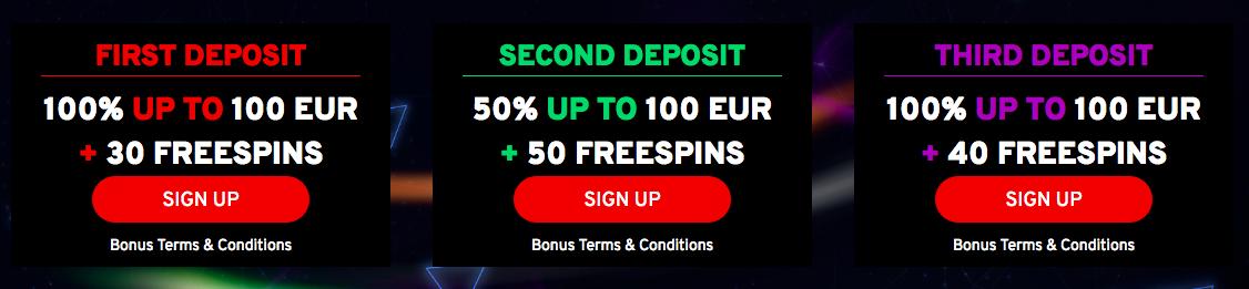 N1 Casino Bonus