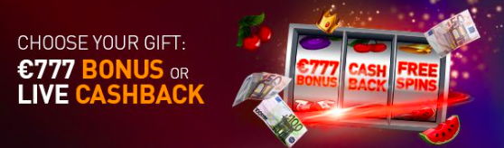 Casino777 bonuscode