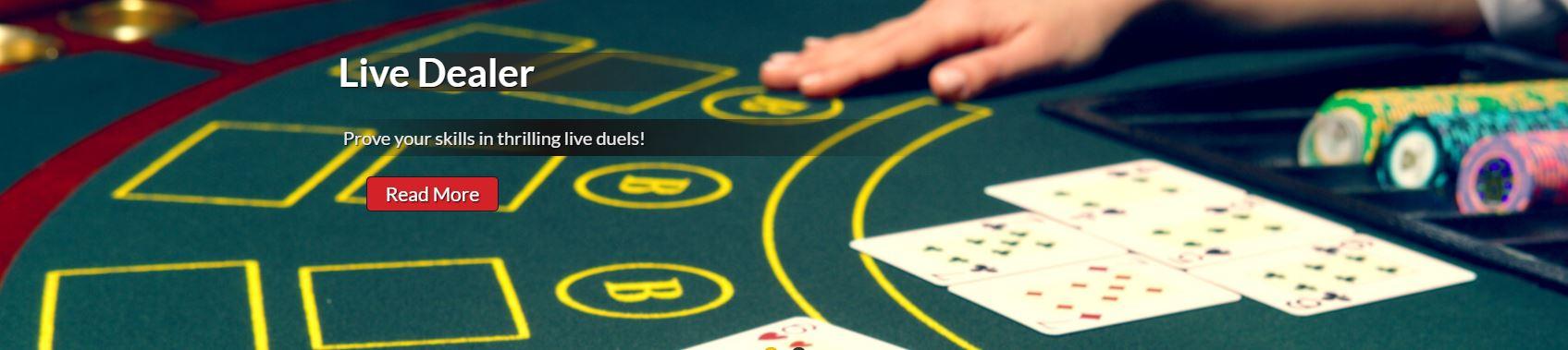 Bonkersbet Live casino