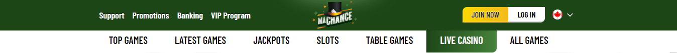 MaChance Top Casino