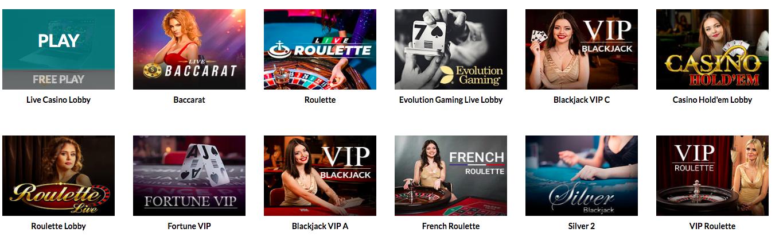 Casino superlines live casino