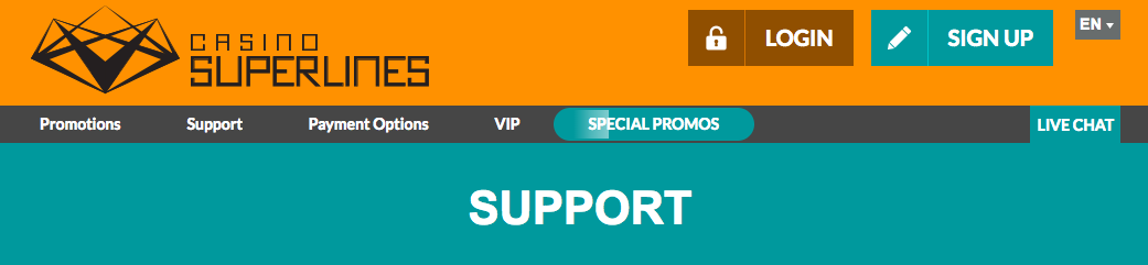 Casino superlines klantenservice
