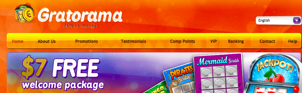 Gratorama bonus code