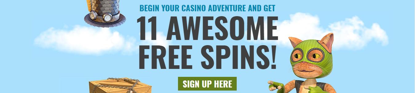 Casino Jefe No Deposit 11 spins bonus