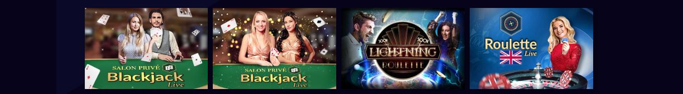 Casiplay casino live dealer spellen