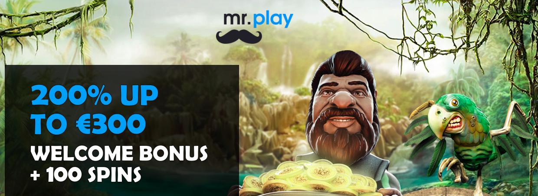Mr Play welkomstbonus