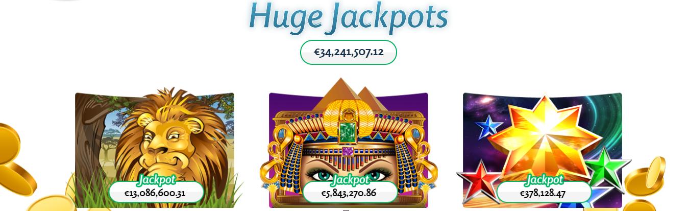 LuckyMe Slots Hoge jackpots