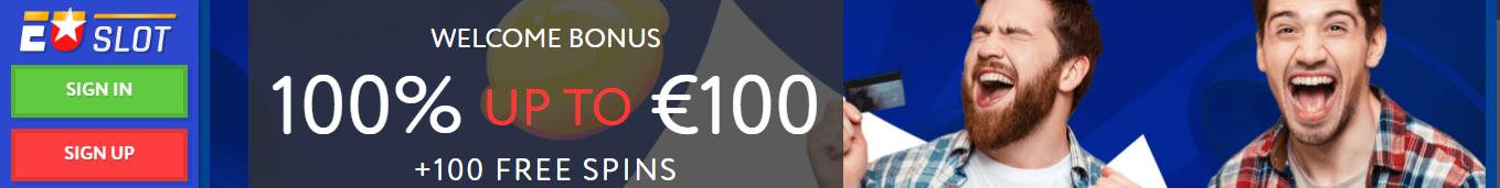 EUslot Bonus Veel Gratis Spins