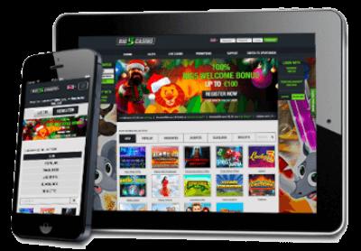 Big5 Casino ook beschikbaar op mobiel