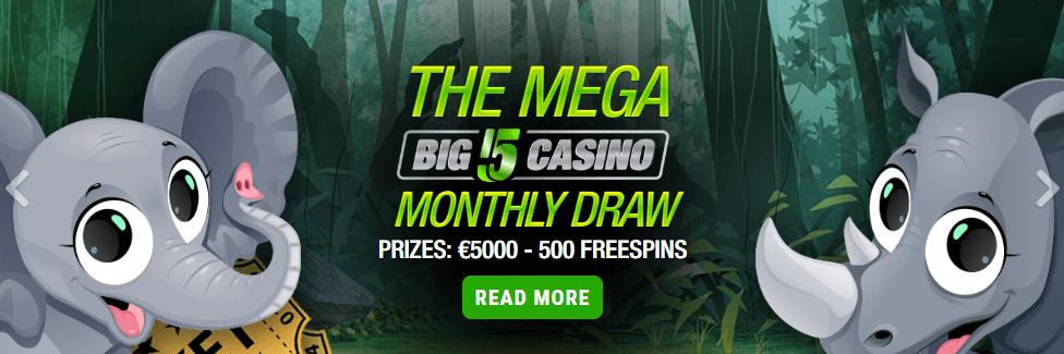 Big5Casino Monthly Draw