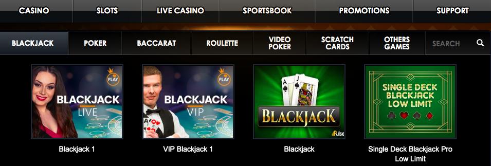 Casino Sieger Games