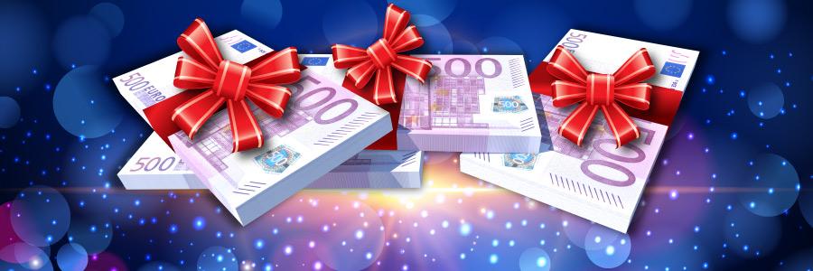 500 euro bonus