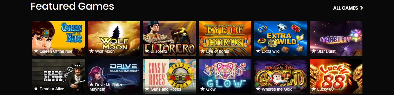 Exclusieve spellen Four Crowns Casino