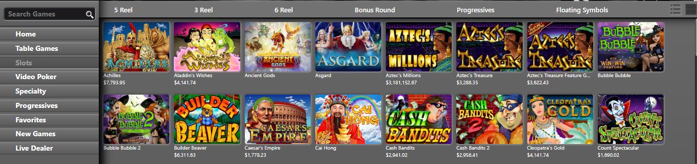 gokkasten Intertops Casino