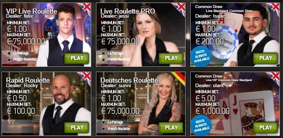 LuckyDino live casino
