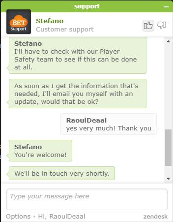 klantenservice 2 cloudbet
