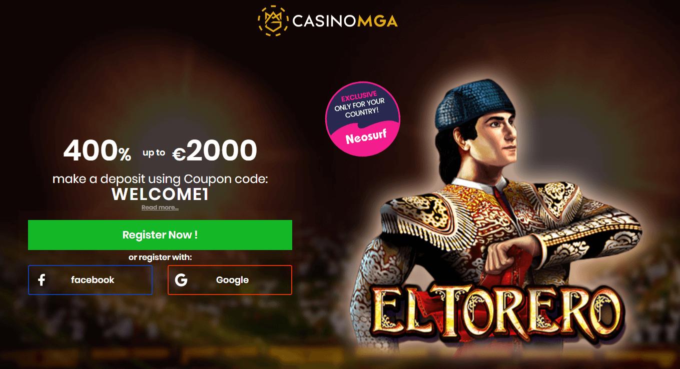 Casino MGA welcome