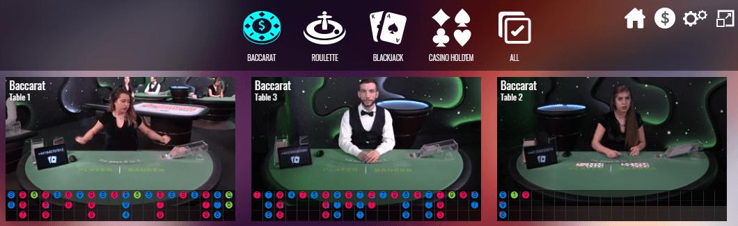 Casino MGA live games