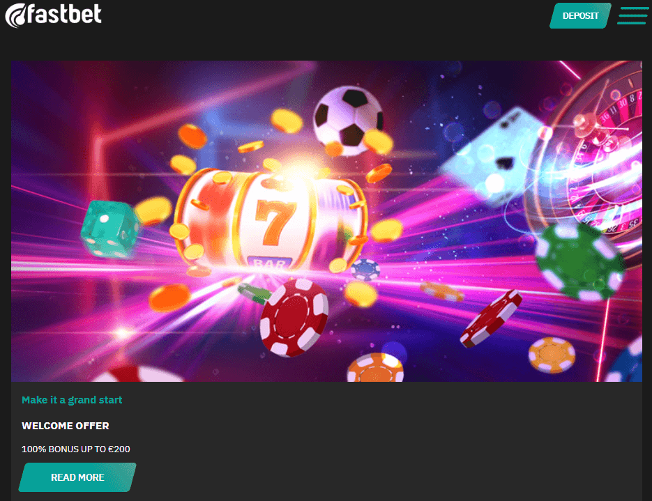 fastbet casino welcome