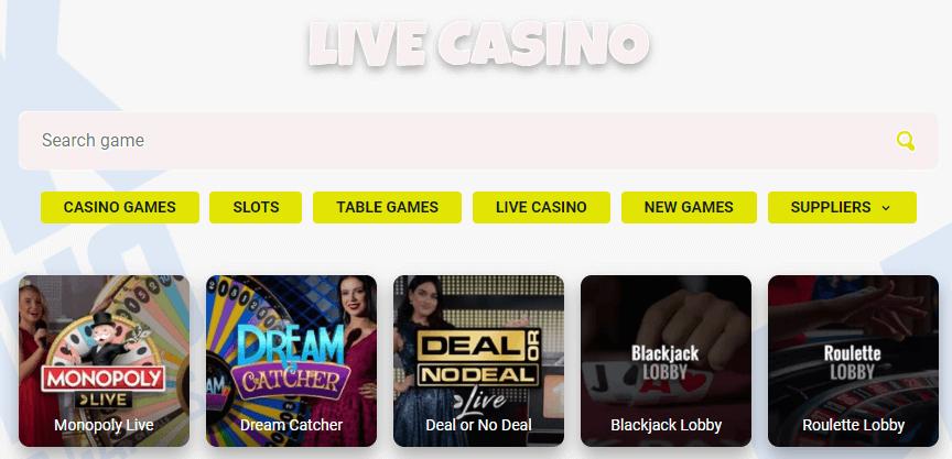 prank casino live games