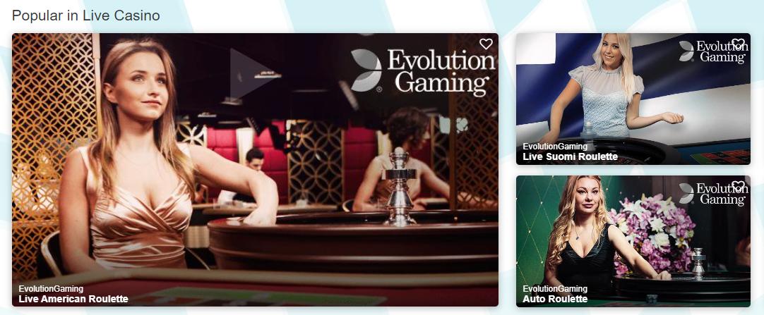 turbo vegas casino live games