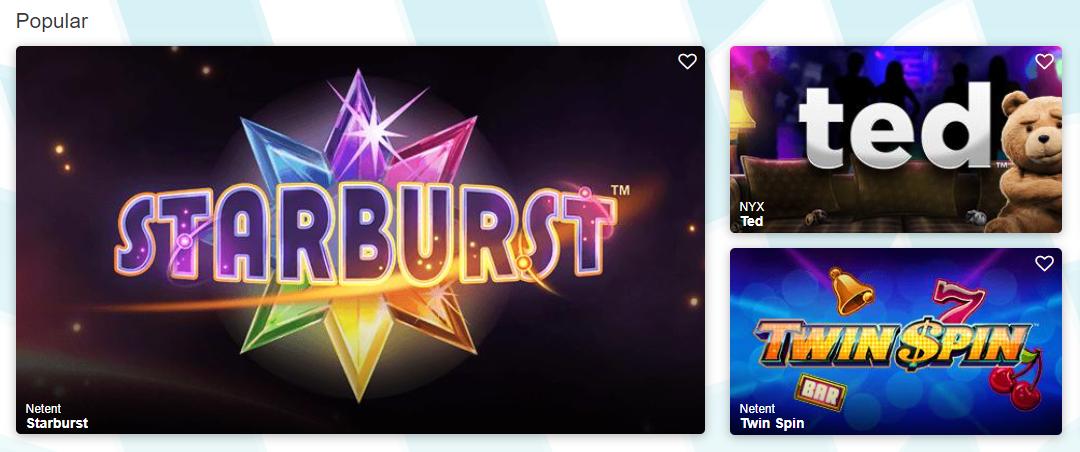 turbo vegas casino games