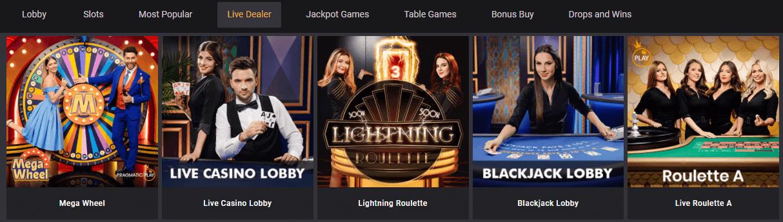 das ist casino live games