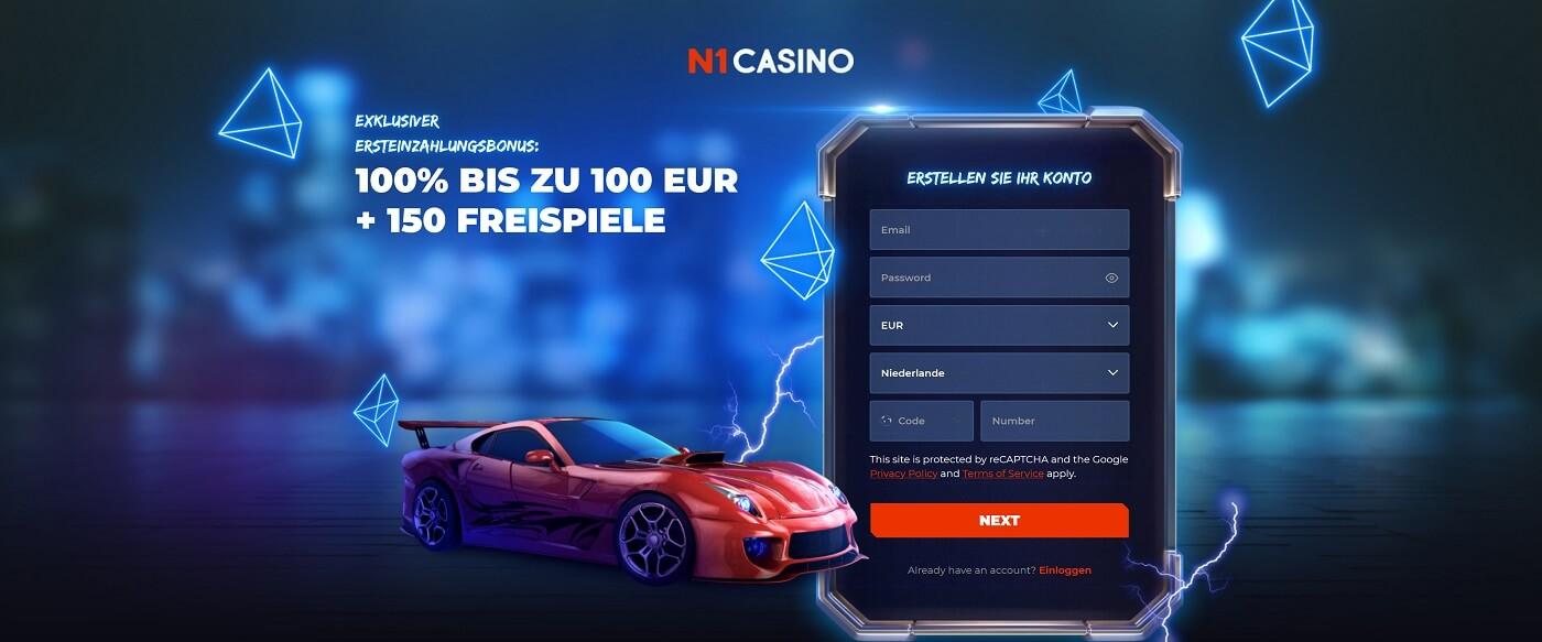 N1 Casino exclusieve Welkomstbonus