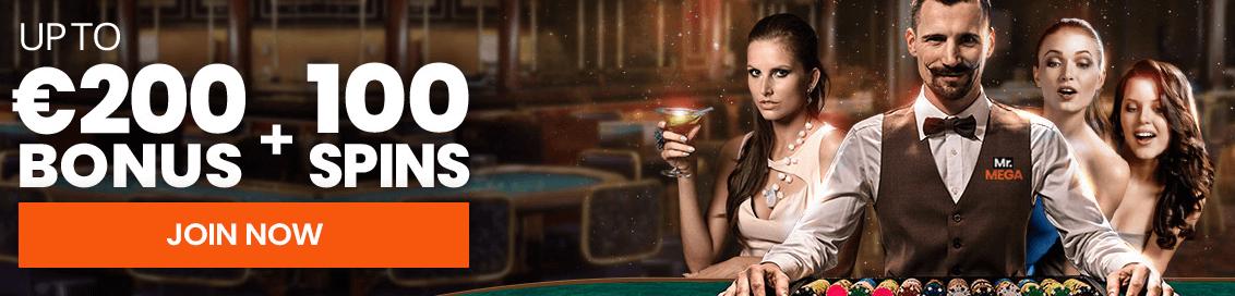 mrmega casino welcome