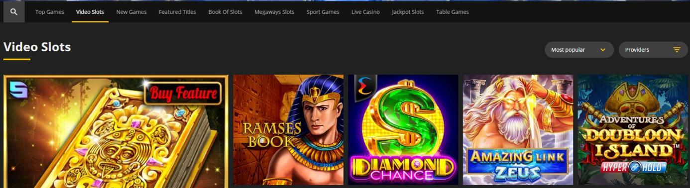 18bet Casino Spelaanbod