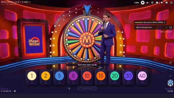 Mega Wheel Screenshot