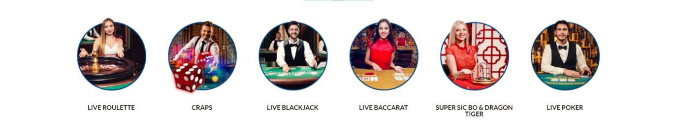 Evolution Gaming Live Casino Screenshot