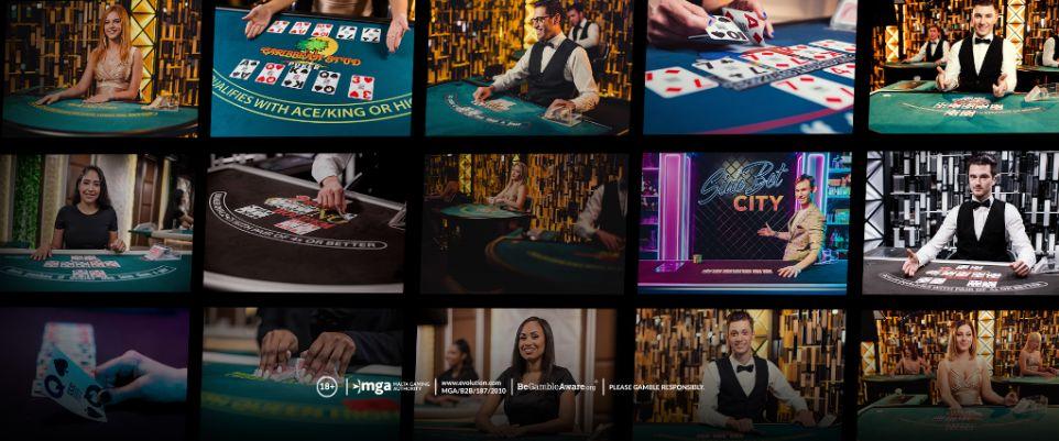 Evolution Gaming Texas Holdem