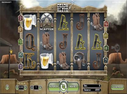 Dead or Alive 2 Slot Screenshot